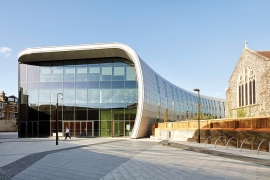 Landmark £22m cultural hub named The Curve completes in Slough