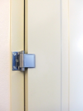 Privacy door latch improves on traditional products