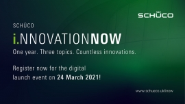 Schüco Innovation Now to Launch