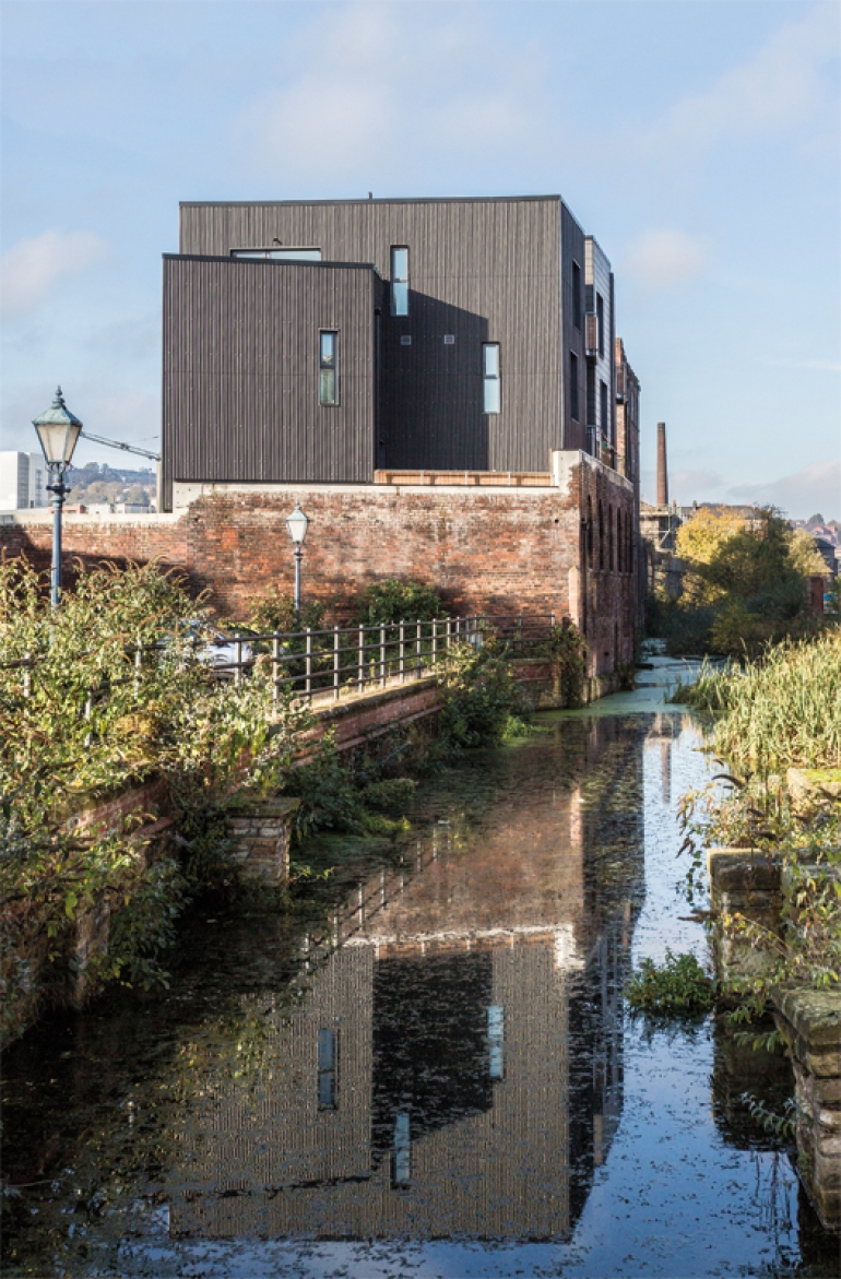 Far from the conventional housing development, Little Kelham stands out from the crowd