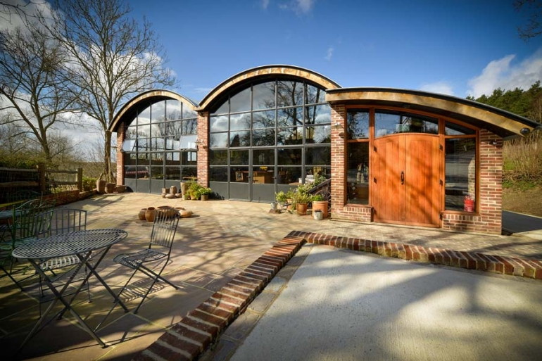 Clement Steel Windows, Doors and Screens Feature Throughout This Fabulous East Sussex Vineyard