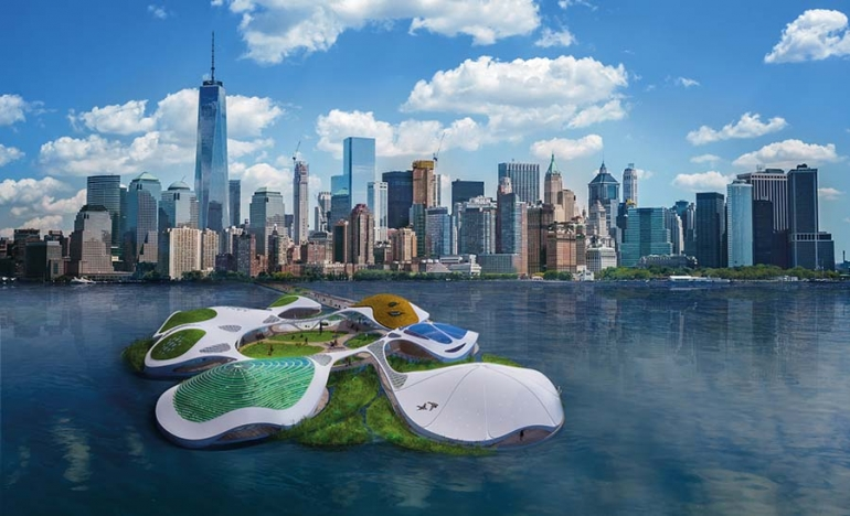A Floating Biotope off Manhattan