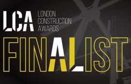 Newton shortlisted at the 2016 London construction awards