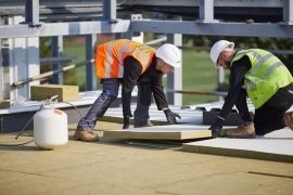 ROCKWOOL® Delivers Versatile Flat Roof Insulation for Cobham Free School