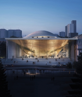 Zaha Hadid Architects selected to build new Sverdlovsk Philharmonic Concert Hall