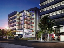 Firestone's RubberGard EPDM specified for landmark commercial scheme in Cardiff's Commercial Enterprise Zone