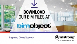 BIM object is now the portal of choice for Armstrong Ceiling Solutions